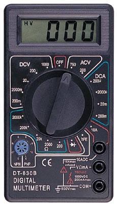 Мультиметр цифровой DT 830B, фото 2