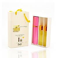 Мини парфюм Dolce&Gabbana The One Women (Дольче Габбана зе Ван) с ферамонами + 2 запаски, 3*20 мл.