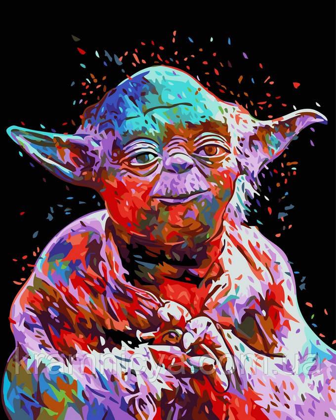 Картина по номерам 40x50 Мастер Йода, Rainbow Art (GX26101)