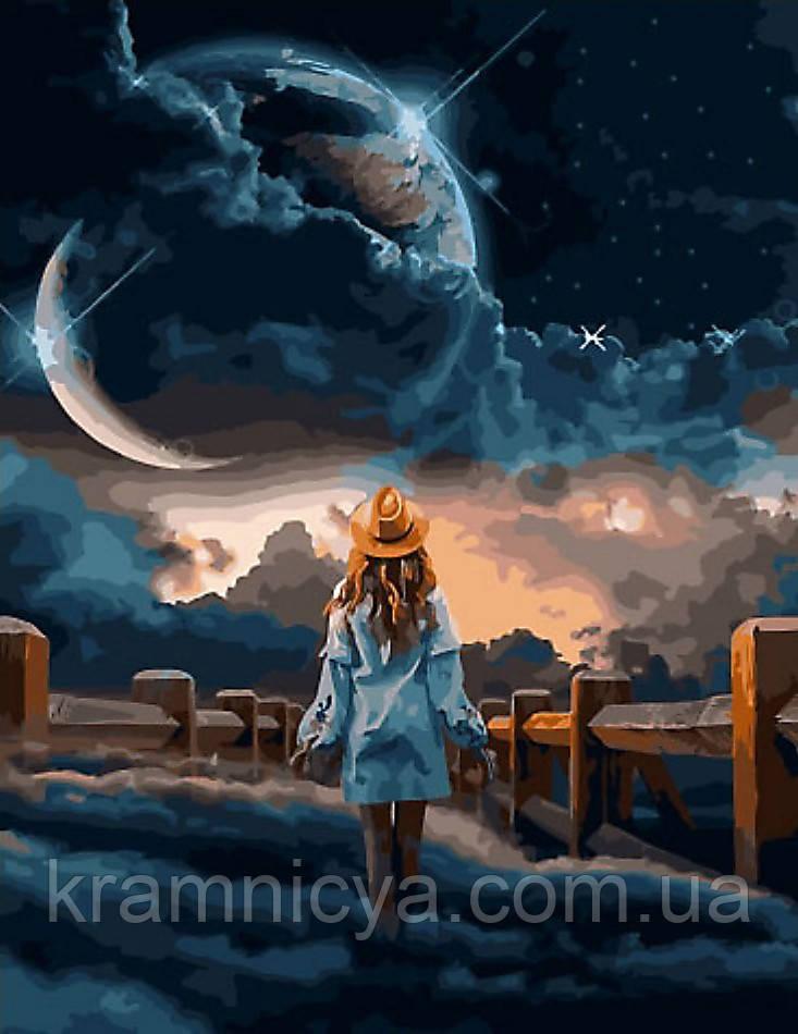 Картина по номерам 40x50 Чарующая ночь, Rainbow Art (GX34402)