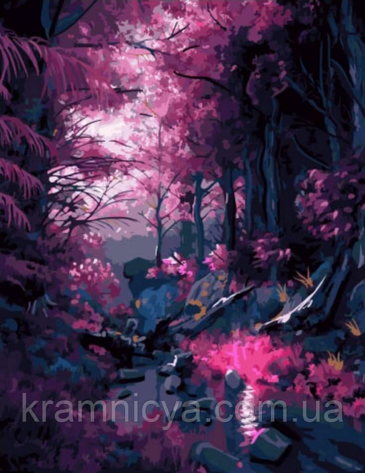Картина за номерами 40x50 Лілова гай, Rainbow Art (GX33315)