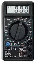 Мультиметр цифровой DT 838 + Термопара