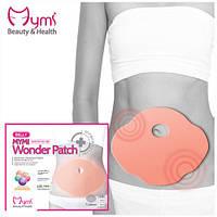 Пластырь для похудения Mymi Wonder Patch подарит плоский животик! (5шт в уп) Корея
