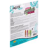 Alex Toys Набор ручек для ногтей с блестками Spa Glitter Sketch It Nail Pens, фото 2