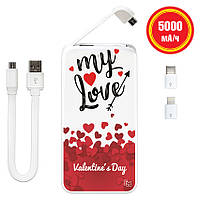 Универсальная мобильная батарея My  Love, 5000 мАч (E505-58), фото 1