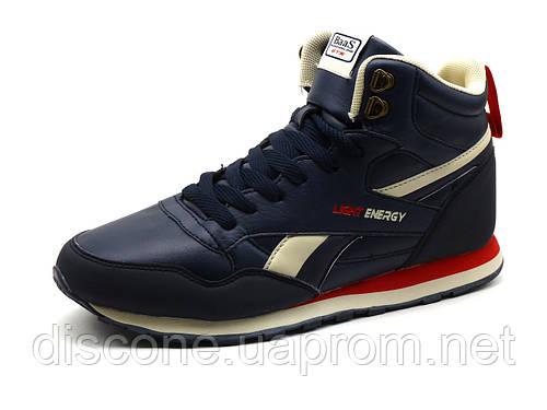 Кроссовки мужские BaaS Light Energy, высокие, темно-синие