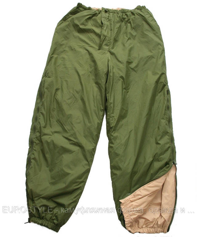 Армейский реверсивный термокостюм