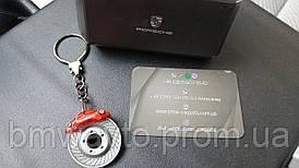 Брелок для ключей с гербом Porsche Brake-disc Keyring
