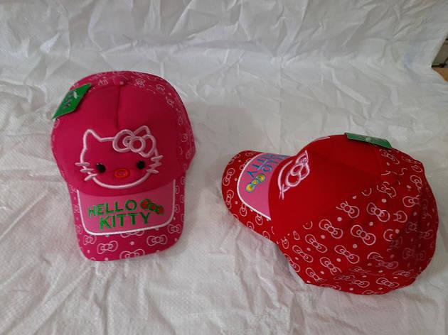"""Кепка детская коттон """"Hello Kitty"""" р-р 50-52 МИКС (от 5 шт), фото 2"""
