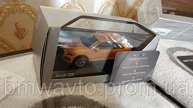 Масштабна модель Audi Q8, Dragon Orange, Scale 1:43, фото 2