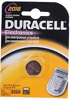 Батарейка Duracell DL2016 DSN Litium 1шт.