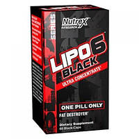 Жироспалювач Nutrex Lipo-6 Black Ultra Concentrate 60caps