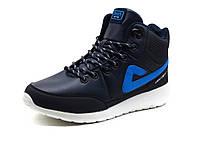 Кроссовки мужские BaaS Adrenaline, высокие, темно-синие, фото 1