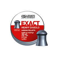 Пули JSB Diabolo Exact Heavy 0,67 г 500 шт