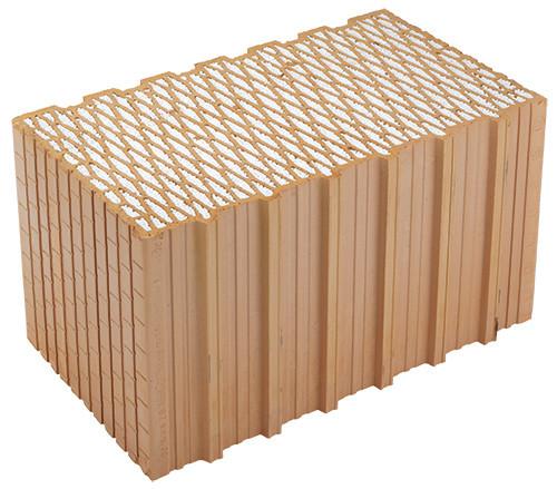 HELUZ FAMILY 44 2in1 Керамический блок шлифованый
