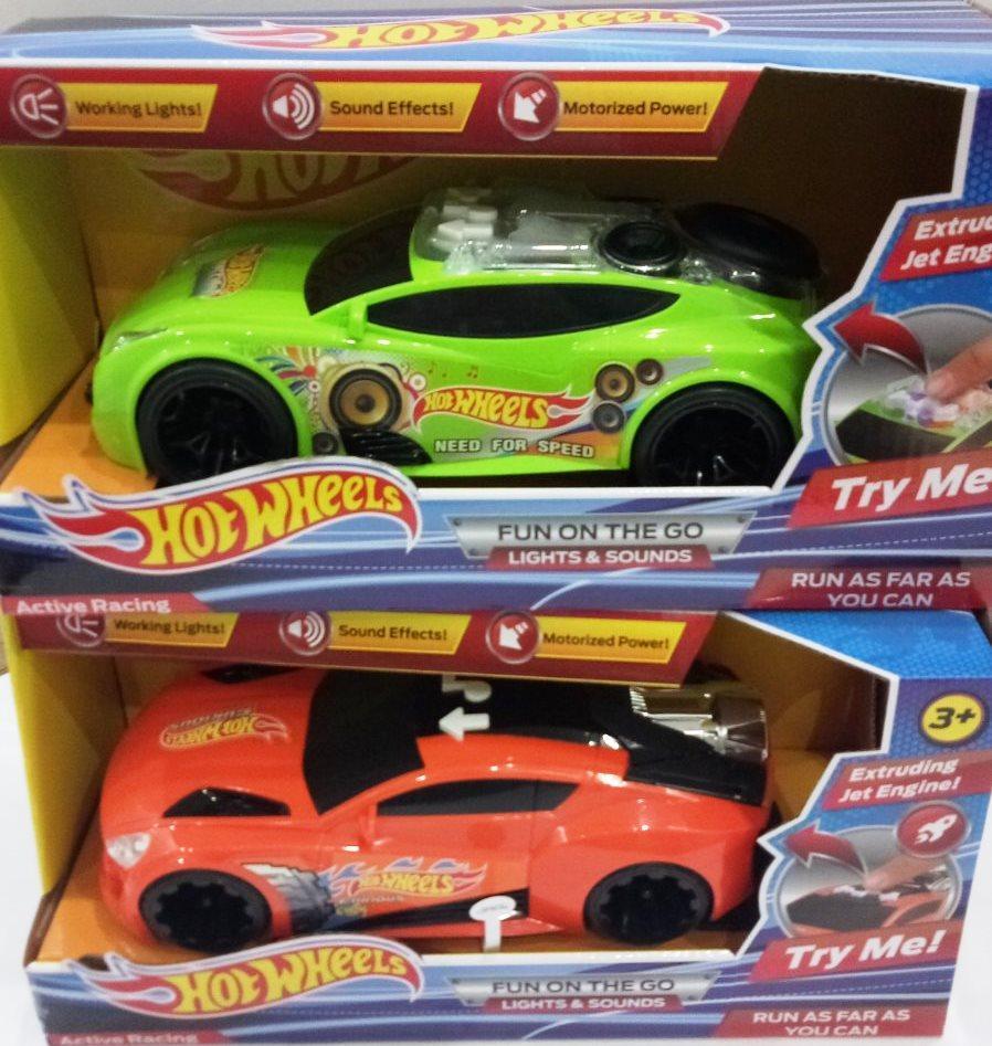 "Машинка ""Hot Wheels Furious""  свет+звук 25 см"