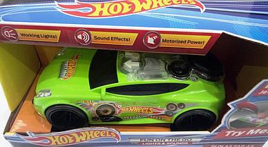 "Машинка ""Hot Wheels Furious""  свет+звук 25 см, фото 3"
