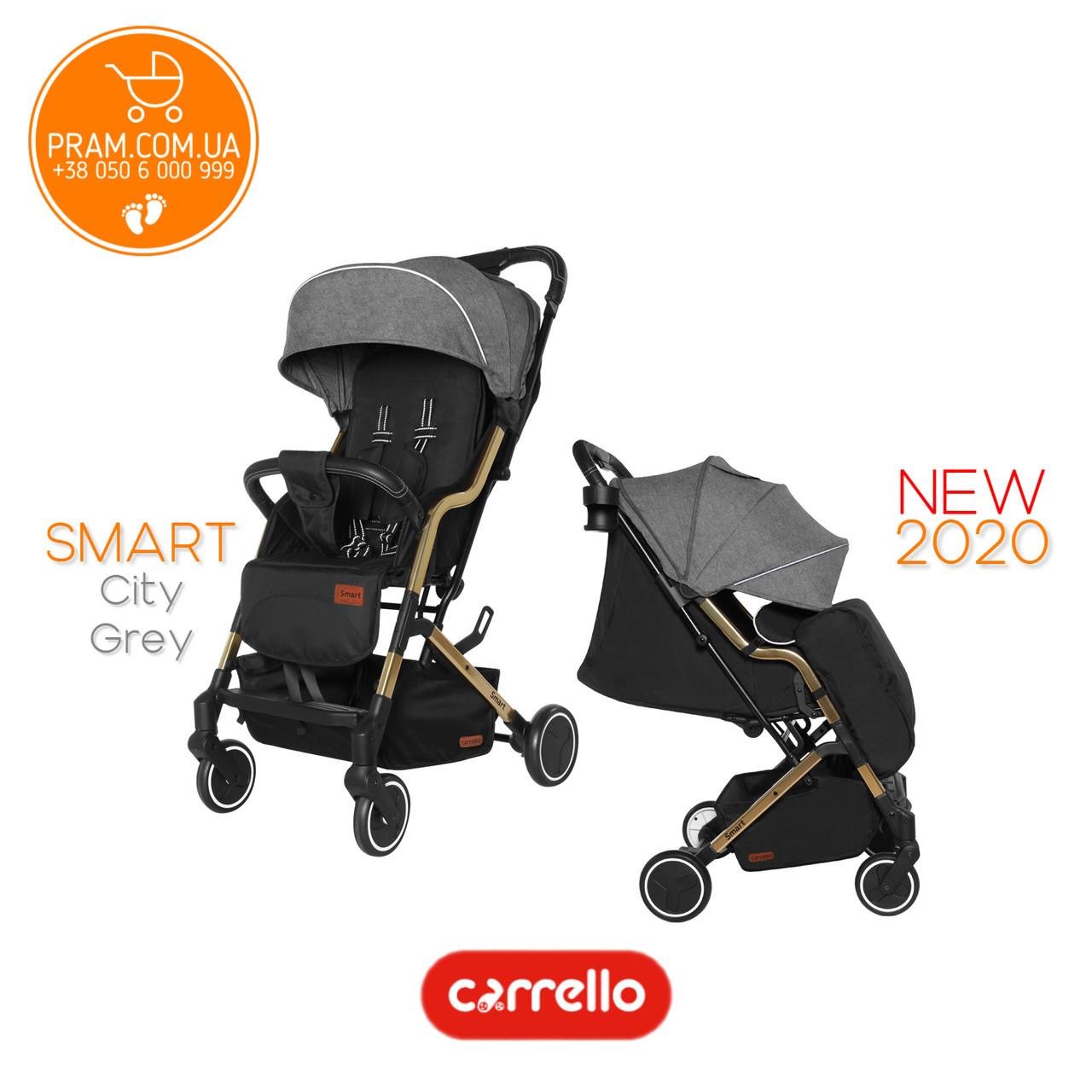 Carrello Smart CRL-5504 прогулочная коляска City Grey Серый