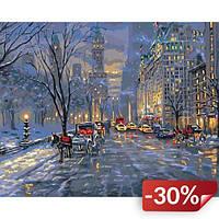 Картина по номерам Идейка Краски ночного города 50х40 (KHO3537)