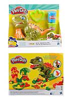 Набор для творчества динозавр, пластилин, формочки, в кор. 28*22*8,5см /48-2/(E1952)