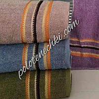Махровое банное полотенце Три полосы