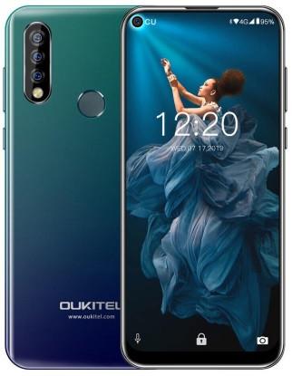"Смартфон OUKITEL C17 3/16Gb Blue, 13+5+2/5Мп, 6.35"" IPS, 2SIM, Helio P23, 4G, 3900мАh, 8 ядер"