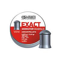 Кулі JSB Diabolo Exact Monster 0,87 г 400 шт