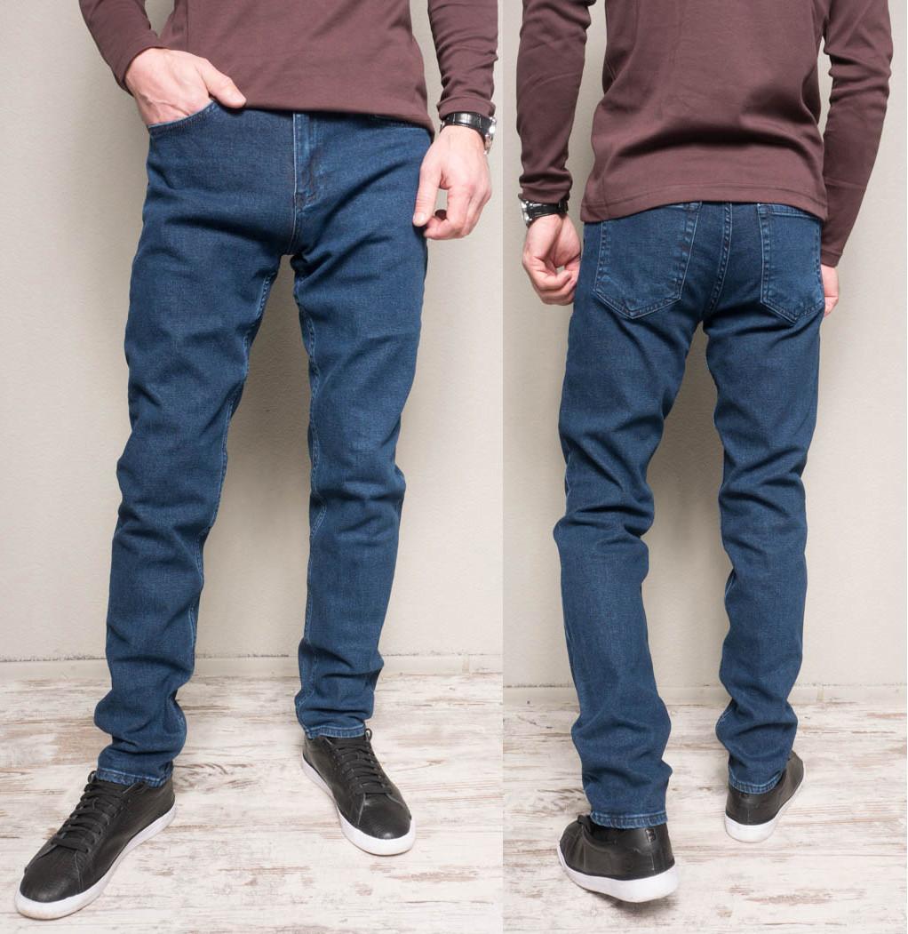 1165-B Cookers джинсы мужские полубатальные синие весенние стрейчевые (32-42, 7 ед.)