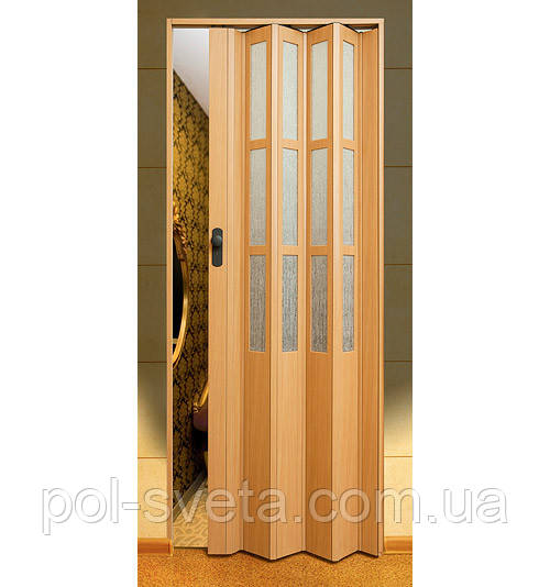 Дверь гармошка Symfonia Бук