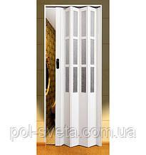 Двери- гармошки Symfonia Арктический белый