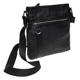 Мужская кожаная сумка Borsa Leather K15003-4-black