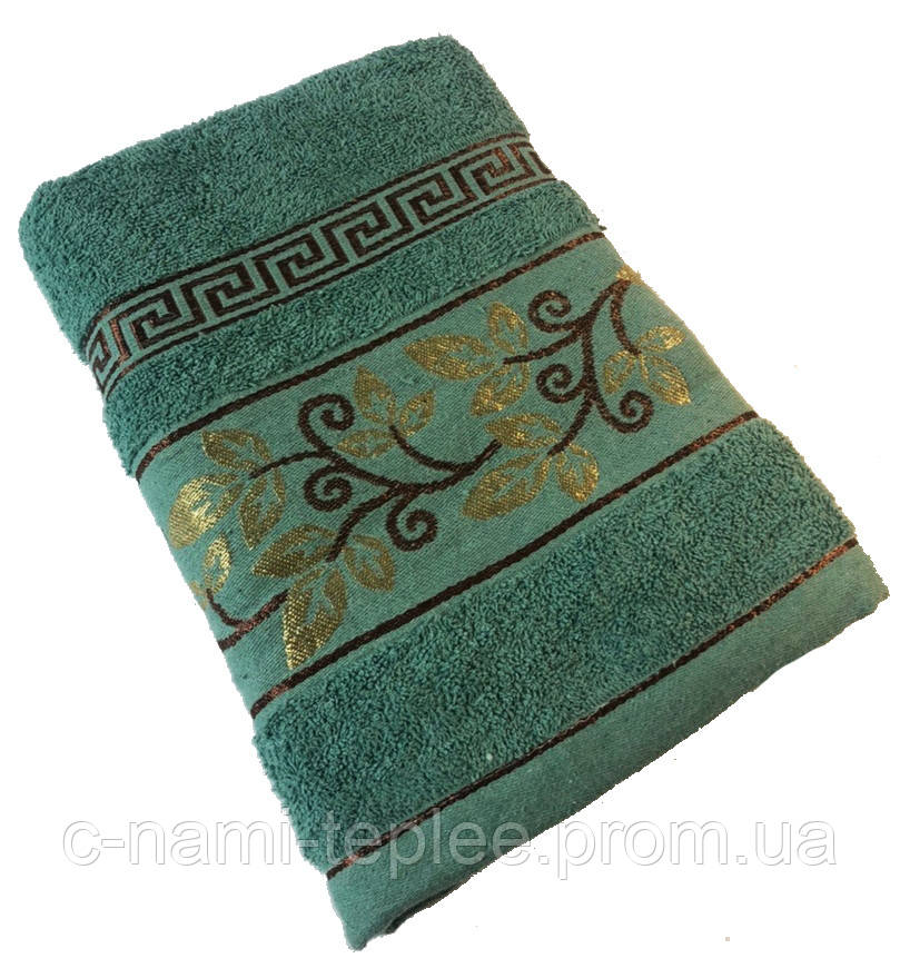 Полотенце банное 70х140 Зеленый