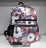 Рюкзак женский маленький тканевый бежевый городской молодежный Dolly 393