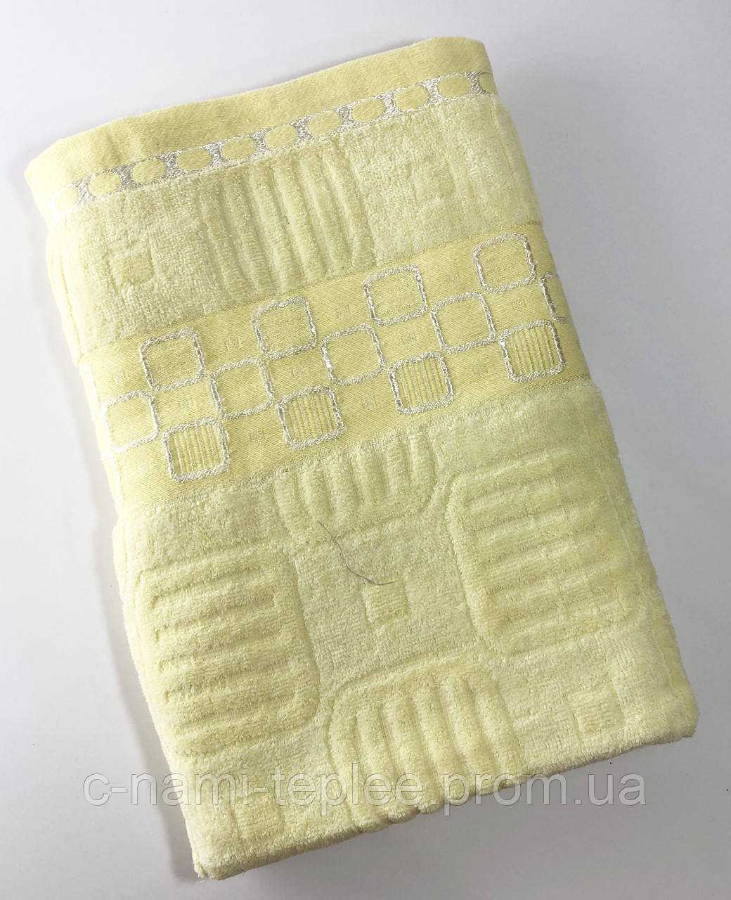 Полотенце банное 70х140 Лимонный