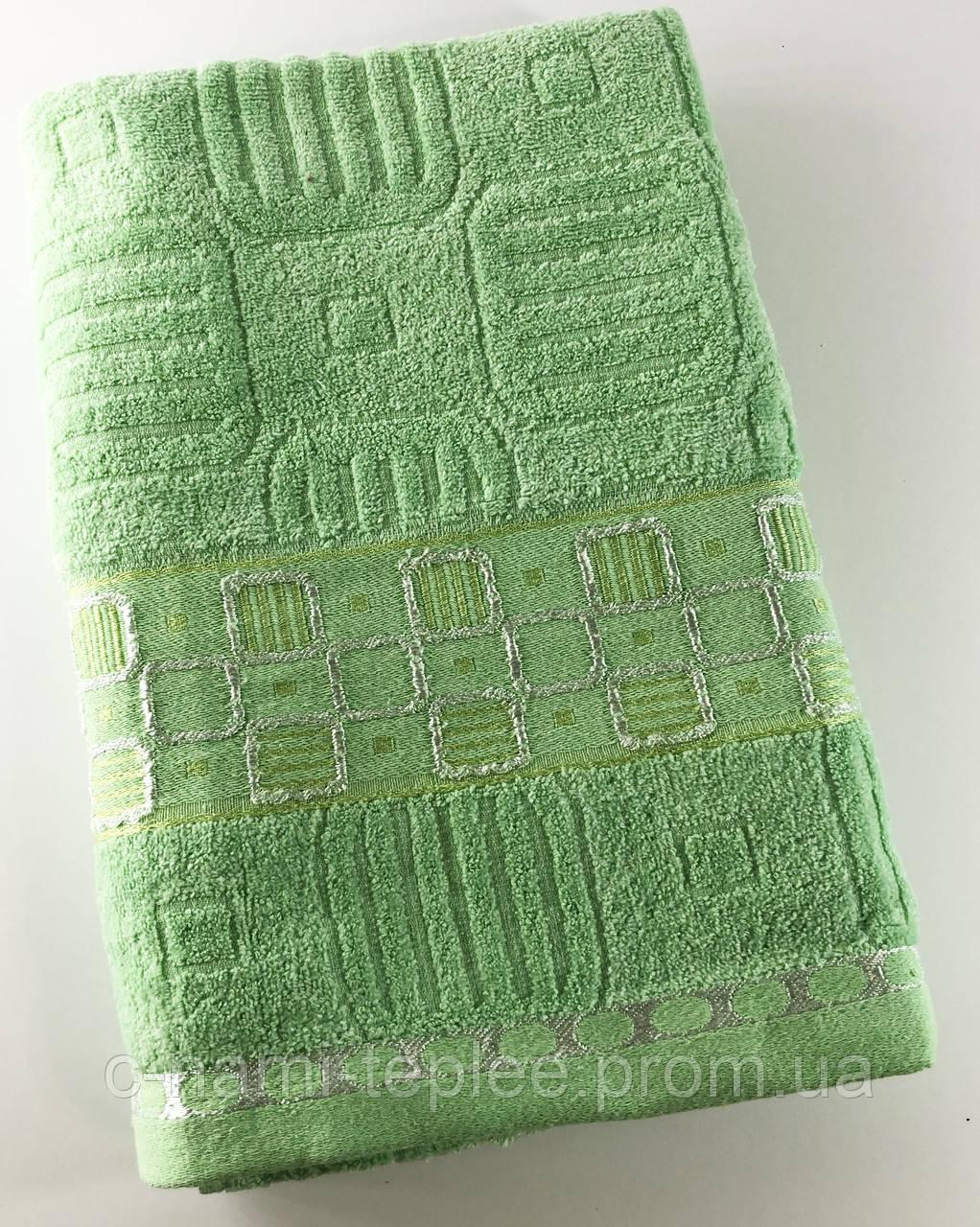 Полотенце банное 70х140 Салатовый