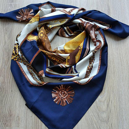 Платок шелковый в стиле Hermes, фото 2
