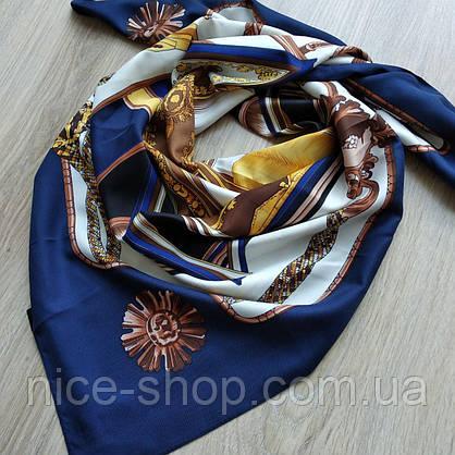 Платок шелковый в стиле Hermes, фото 3