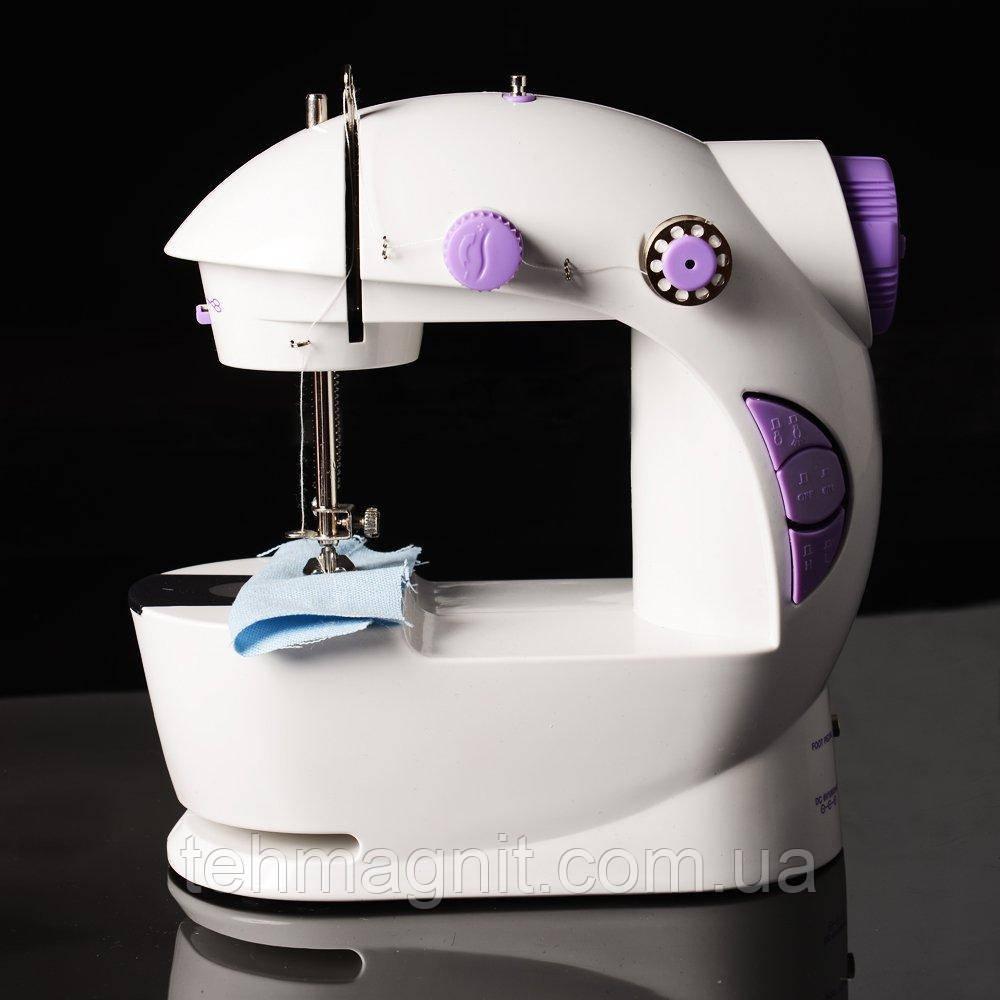 Швейная машинка  с блоком питания и  педалью 4 в 1 FHSM - 201