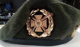 Берет шитый общевойсковой сухопутных войск полынь/ механизированные войска/ пехота