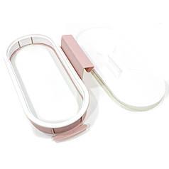 Навесной держатель для мусорных пакетов Attach-A-Trash Light Pink навесная корзина для мусора
