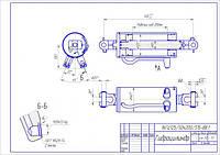 Гидроцилиндр навески трактора МТЗ-1221 ГЦ125/50х200-3.44.1