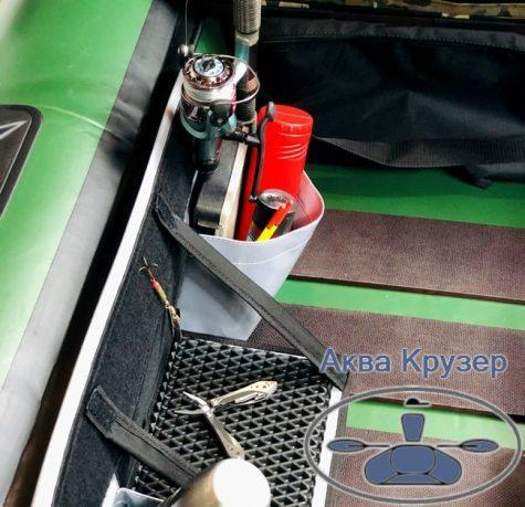 бортовые сумки для лодки пвх -  рыболовные сумки для снастей в лодку
