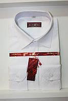 Рубашка Bendu (белая с принтом)