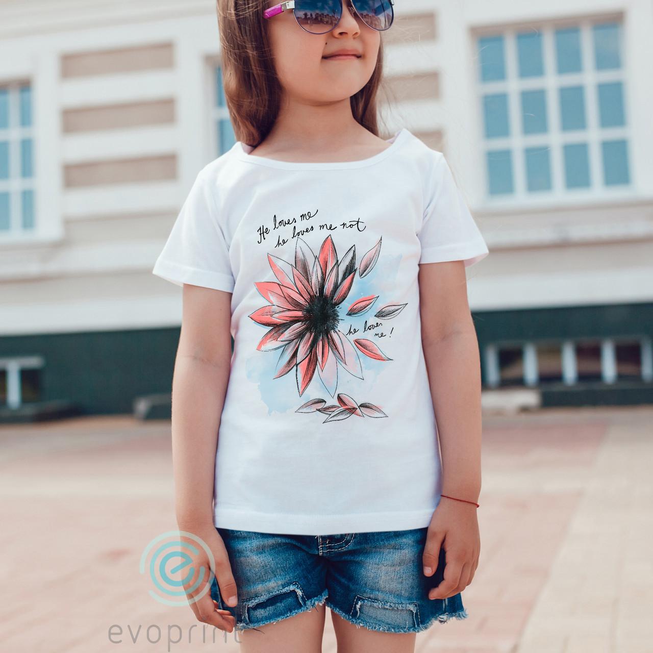 Качественная печать на детских футболках 100% хлопок