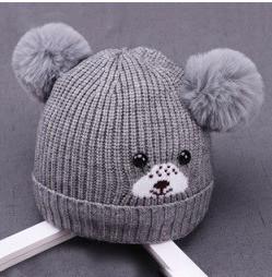 Милая детская шапочка от 0 до 12 месяцев.
