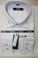Рубашка Bendu (белая с оригинальной отделкой)