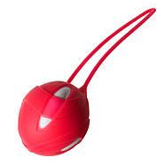 Вагинальный шарик Smartball Teneo Uno от Fun Factory, красный, фото 2