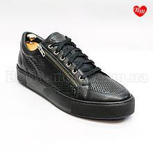 Мужские туфли на молнии и шнурках