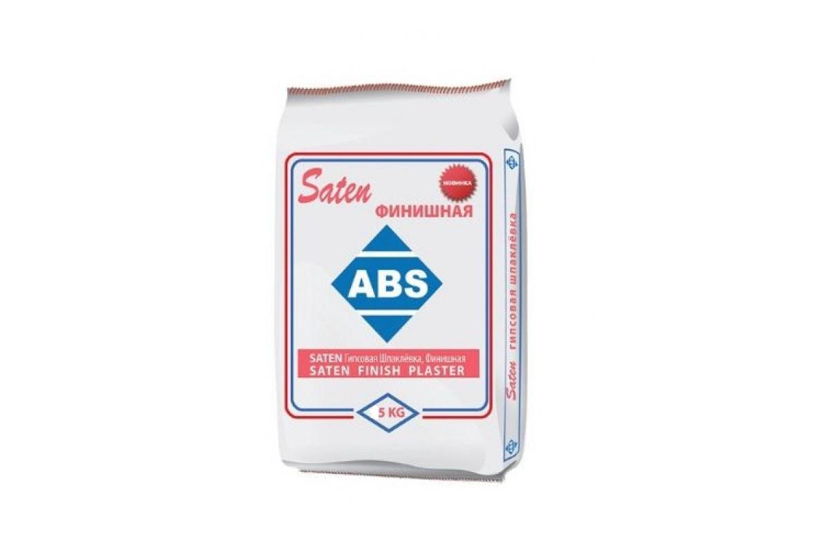 Шпаклевка гипсовая ABS Saten финиш (5 кг)