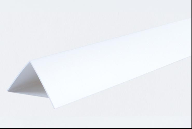 Декоративные углы ПВХ белые LinePlast 40х40